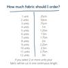 Love Hearts Dressmaking Fabric