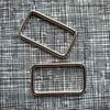 Metal Bag Rectangle Ring 38mm