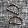 Metal Bag D Ring 38mm