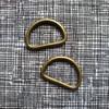 Metal Bag D Ring 25mm