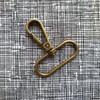 Metal Bag Snap Hooks 38mm
