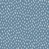 Dashes Cotton Poplin in Blue