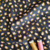 Jungle Spots Cotton Poplin in Black