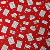 Christmas Post Letters to Santa in Red