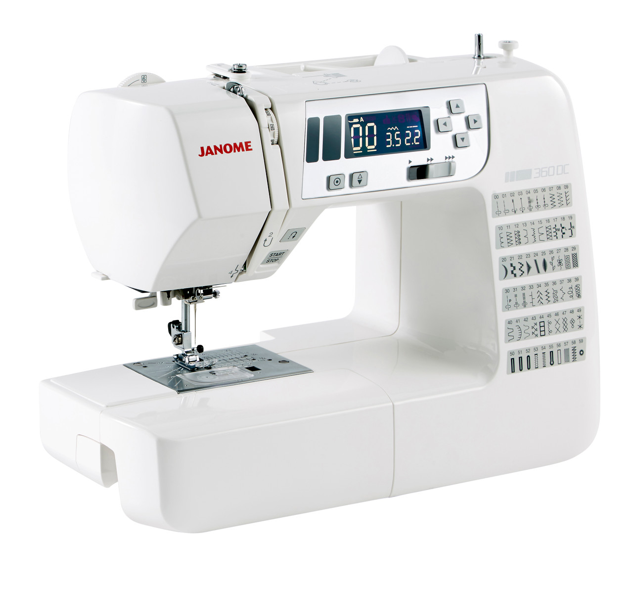 Швейная машина Janome Diva. Купить швейная машина Janome Diva в ... | 1199x1280
