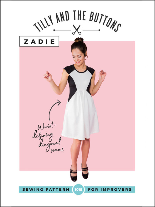 Zadie Dress Pattern by Tilly & the Buttons