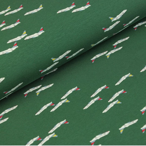 Ready for Take Off Jersey in Garden Green