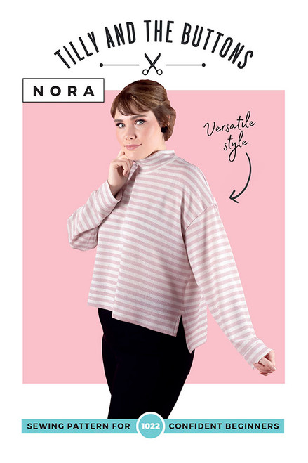 Nora Top by Tilly and the Buttons