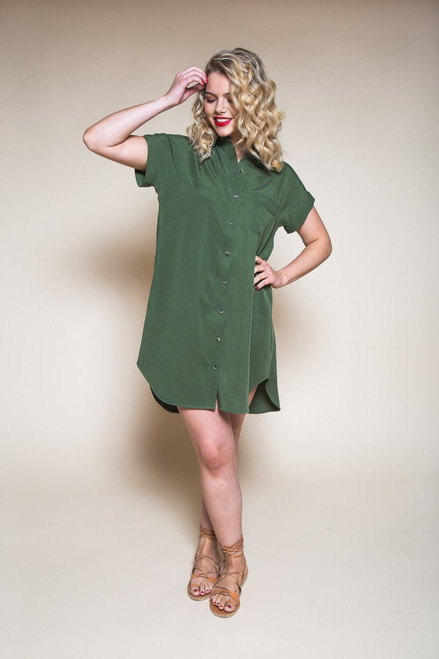 Kalle Shirt and Shirt-dress by Closet Case