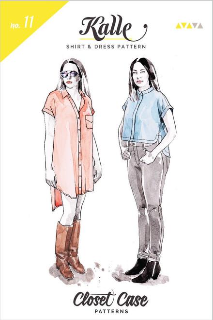 Kalle Shirt and Shirt-dress by Closet Case