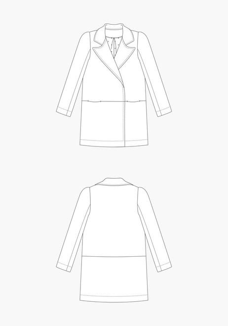 Yates Coat by Grainline Studio