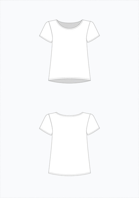 Scout Tee by Grainline Studio
