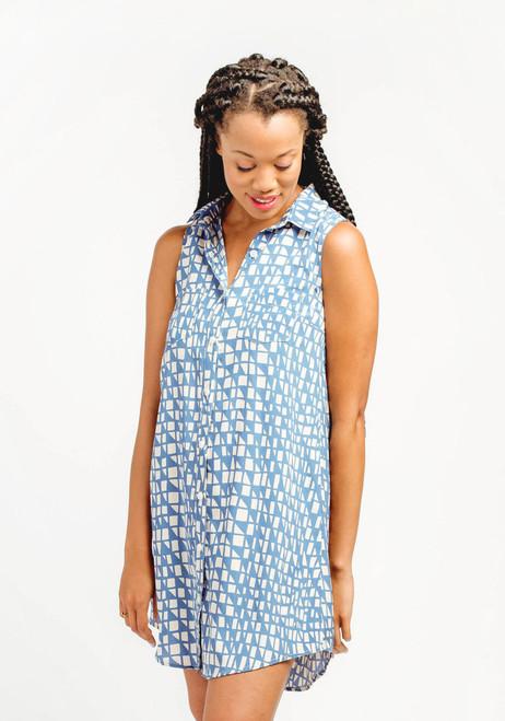 Alder Shirt-dress by Grainline Studio