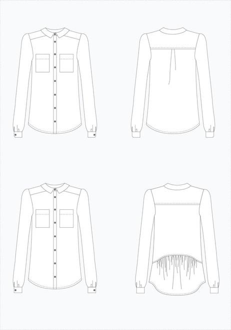 Archer Shirt by Grainline Studio