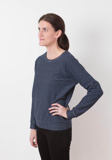 Linden Sweatshirt by Grainline Studio