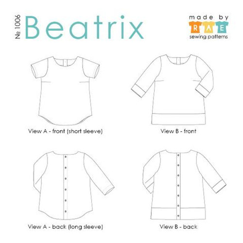 Beatrix Top by Made by Rae