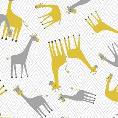 STAND TALL Little Giraffes by Whistler Studios in White