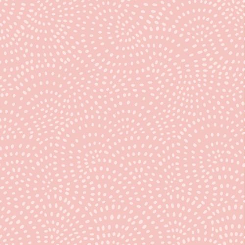 Twist Spot Fabric in Blush