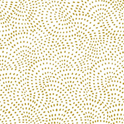 Twist Spot Fabric in Gold Metallic