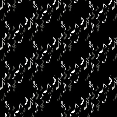 OPUS Music Notes by Whistler Studios in Black