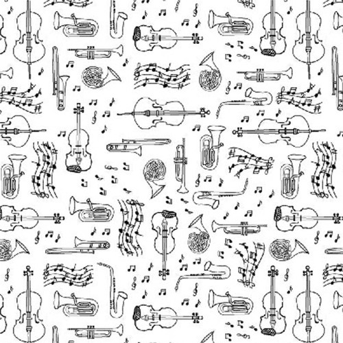 OPUS Mini Music by Whistler Studios in White