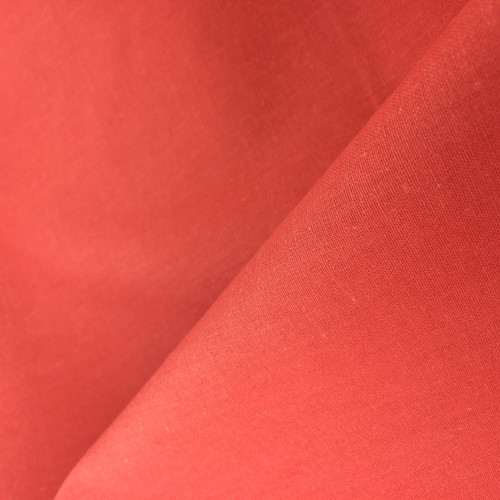 Premium Cotton in Coral