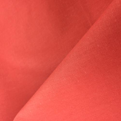 Premium Cotton in Coral