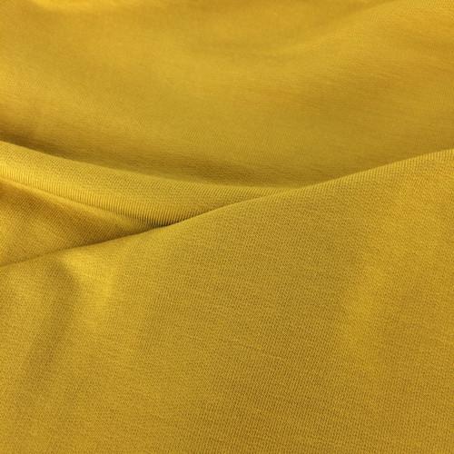 Solid Modal Jersey in Mustard