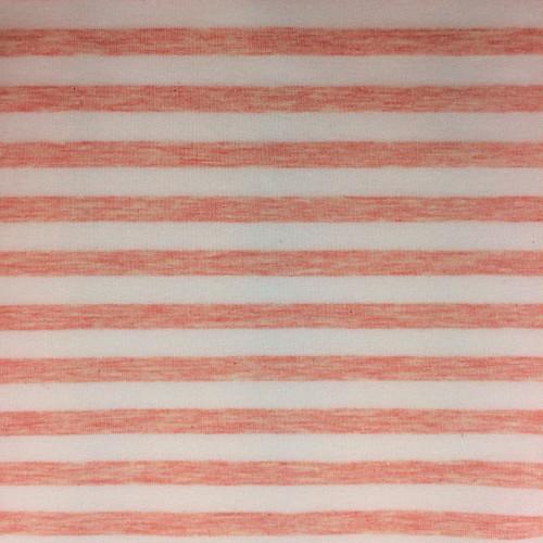 Yarn Dyed Stripe Jersey in Pink