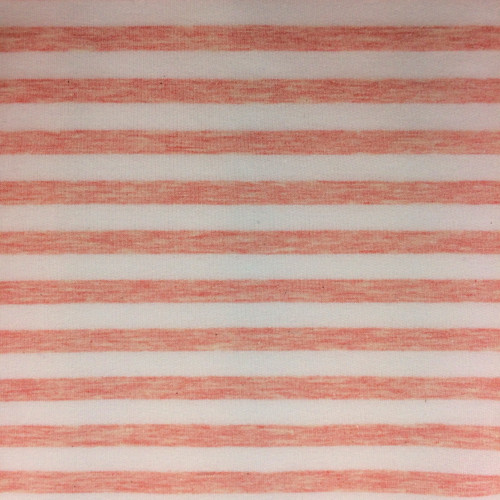 Yarn Dyed Stripe Jersey in Pink