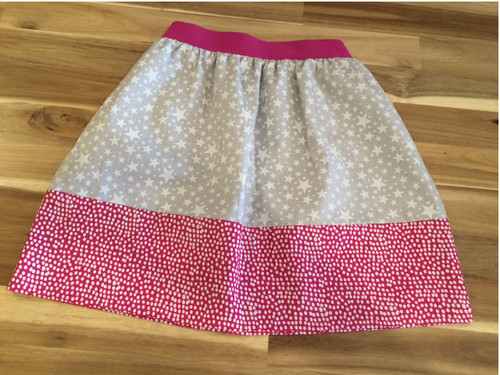 Simple Little Girls Skirt at The Sewing Cafe - sewing workshop