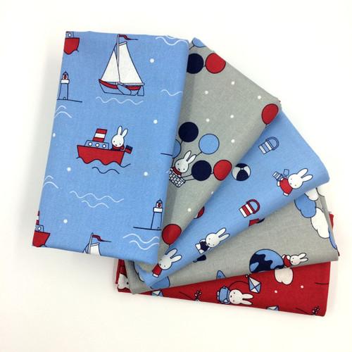 Miffy on Holiday Cotton Fabrics