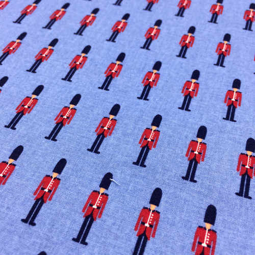 London Town Soldiers in Blue