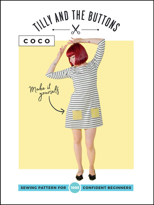 Tilly & the Buttons Coco Top & Dress Pattern