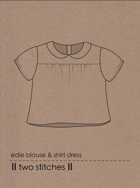 Edie Blouse by Two Stitches Patterns