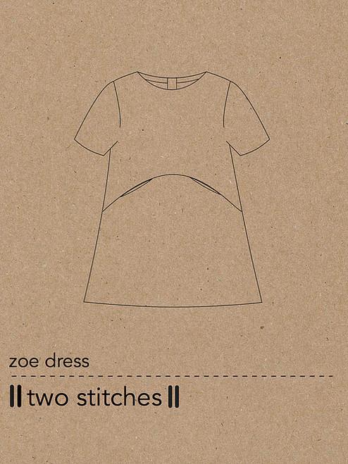 Zoe Dress by Two Stitches Patterns