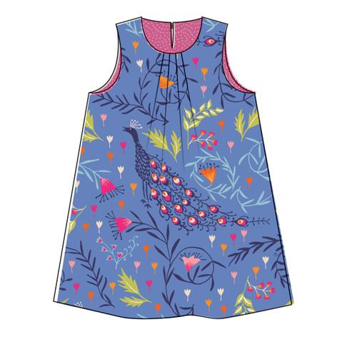 Frida Dress by Two Stitches Patterns