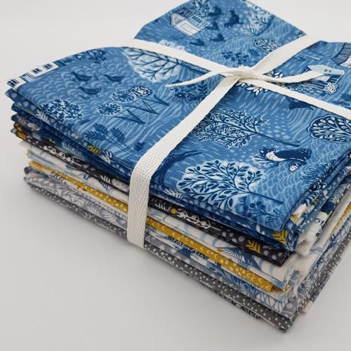 Makower Uk Grove Woodland fabric range