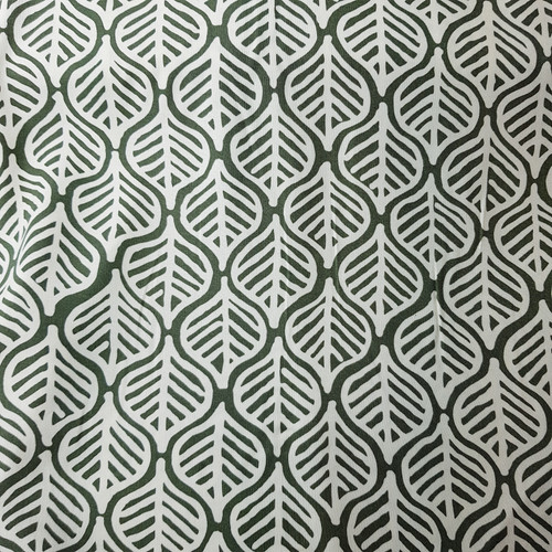 leaf print viscose fabric