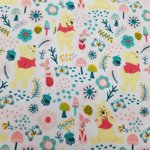 Winnie the Pooh Cotton Flannel in Multi