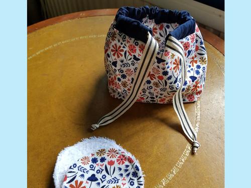 Mini Makes - Make-up Pads and Drawstring Bag Sewing Workshop