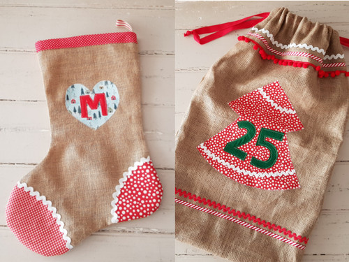 Christmas Stocking or Christmas Sack workshop at The Sewing Cafe