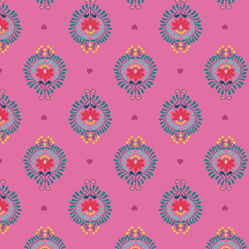 Maya Medallion in Pink - 0.9m