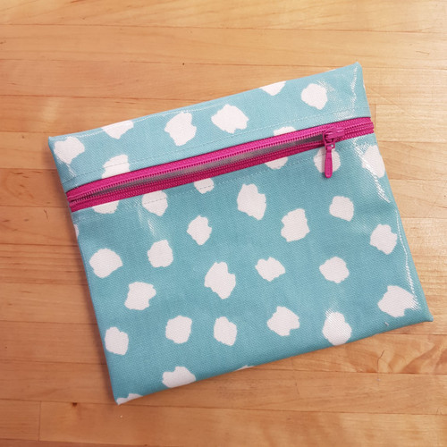 Sew Saturday Oilcloth Purse workshop at The Sewing Cafe