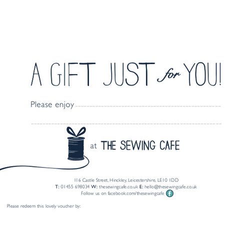 £100 Gift Voucher - The Sewing Cafe