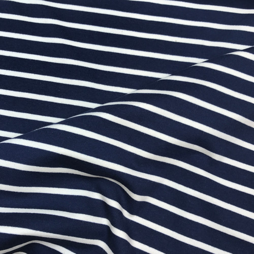 Sweatshirt Stripe in Navy