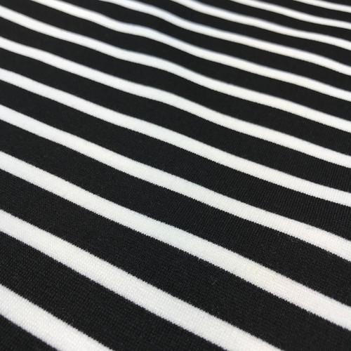 Sweatshirt Stripe in Black