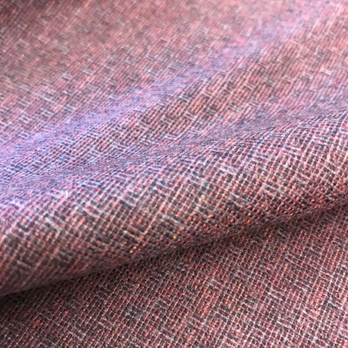 Wool Mix Suiting in Plum