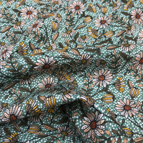Autumn Meadow Twill in Green