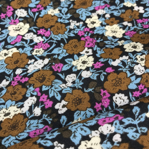 Mini Meadow Javanaise Viscose in Chocolate